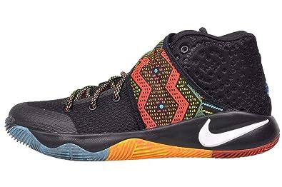 54f3b9e7c5db Nike Kyrie 2 GS (BHM) Black Multi-Color-Multi-Color 7Y  Amazon.co.uk ...