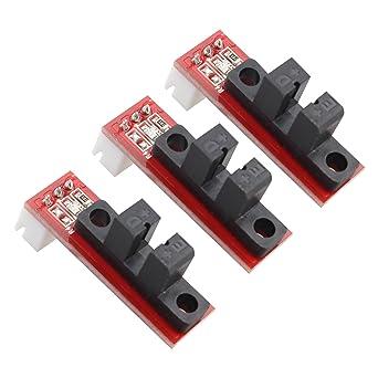 haljia 3pcs óptico endstop Interruptor mecánico Compatible con ...