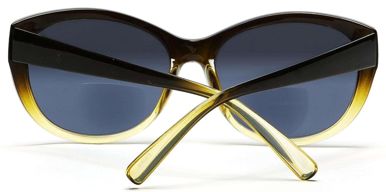 Samba Shades Sonne Leser Kunststoffrahmen Bifokale Sonnenbrillen Rahmen Linsen +2.00 J4Eqk7AE