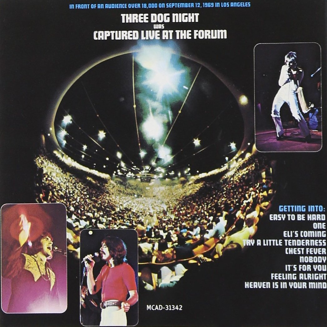 Captured Live At The Forum by THREE DOG NIGHT