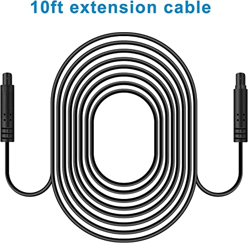 10ft Extension Cable for Dash cam Front and Rear The Rear cam Cable