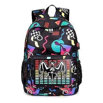 Tianba Lentejuelas Cuero Mochilas Colegio Mujer Bolsas Intelligent Juvenil Backpack Estampados Trekking Bolsa De Estudiante Impermeable Clasicas Mochila ...