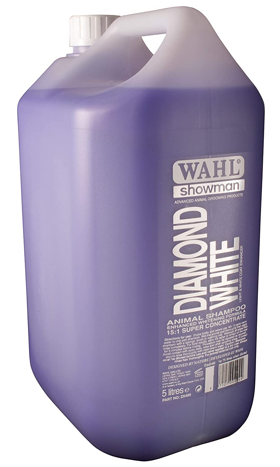 Wahl Europe Concentrated Diamond White Shampoo 5ltr