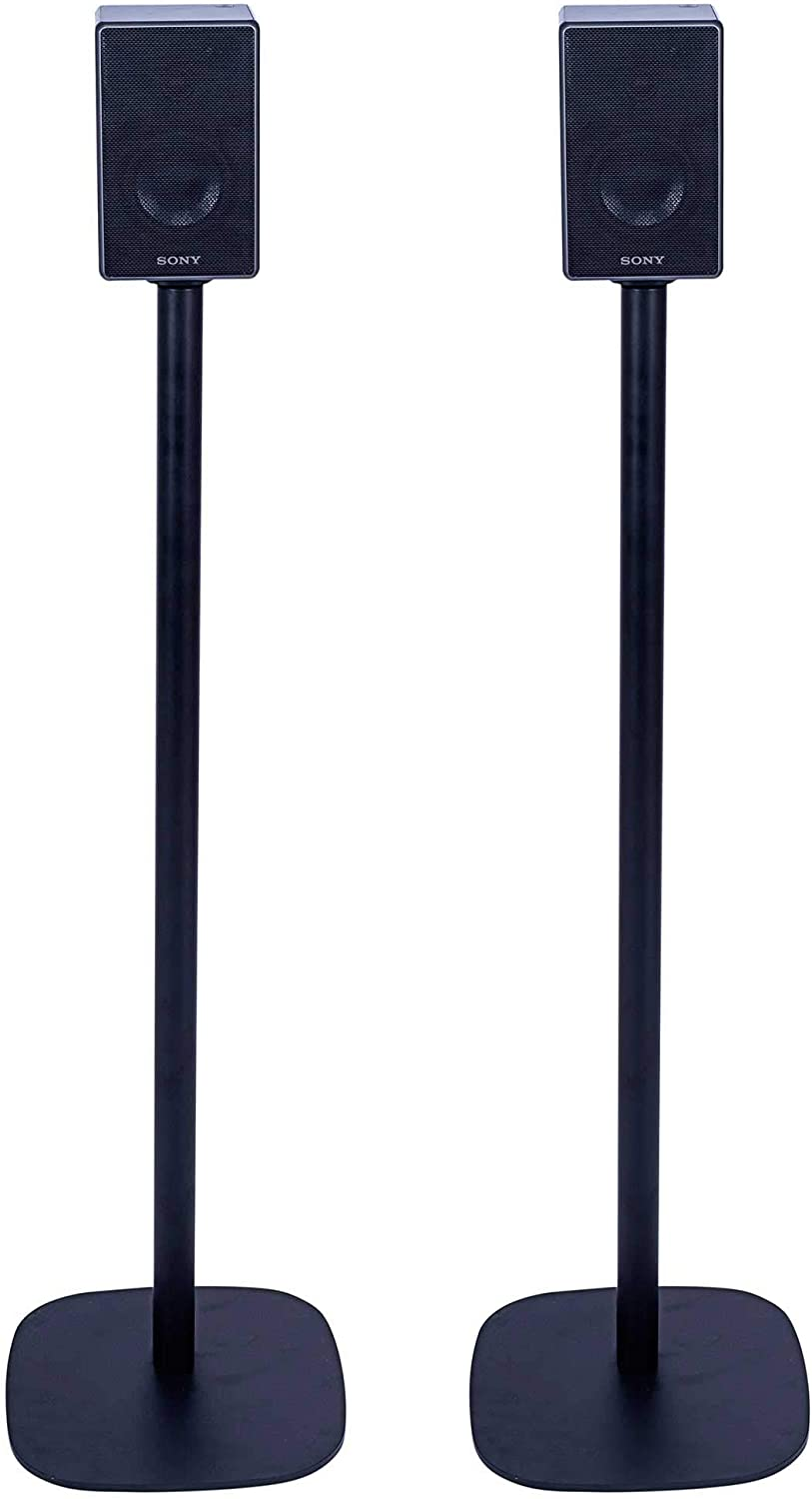 Vebos Floor Stand Sony SRS-ZR5 Black Set en Optimal Experience in Every Room - Allows You to Place Your Sony SRS-ZR5 Exactly Where You Want it - Compatible with Heos 1