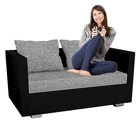 """VCM """"sinsa sofá de 2 plazas sofá/Polipiel/con función Saco de"""