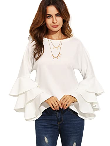 ruffle statement sleeves