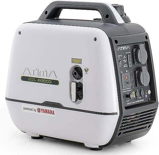 Atima Generador Inverter 2000W con Motor Yamaha Portátil ...