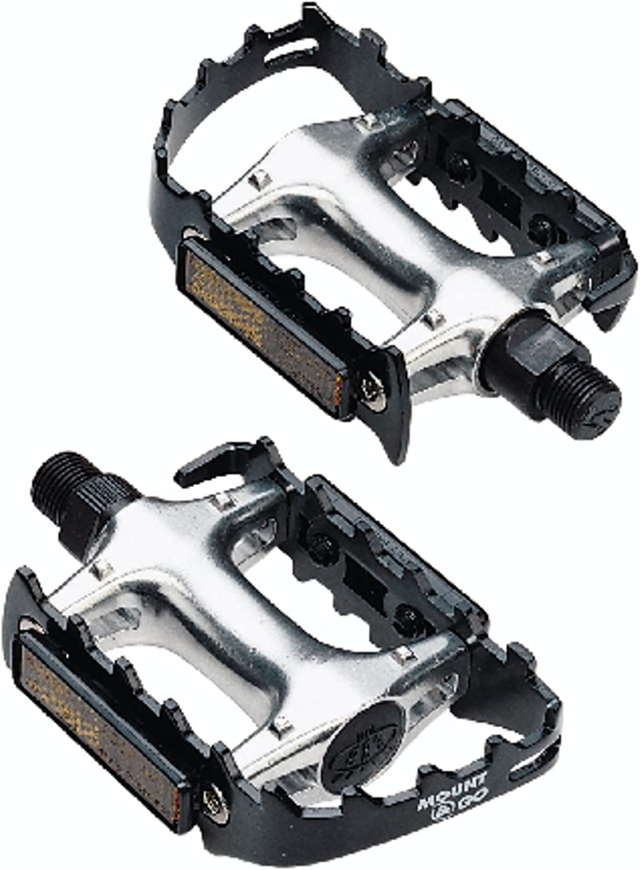 Grands Pieds Pédales MTB froid Forgé Aluminium Avec Double Réflecteur BPD-16