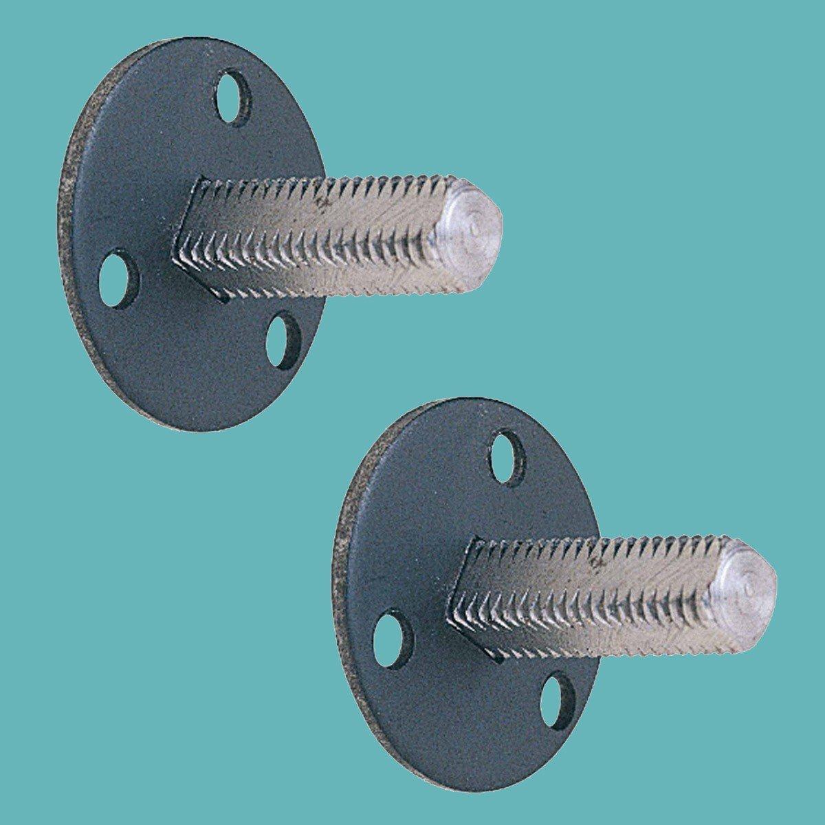 6 1 3//8 Standard Threaded Steel Dummy Doorknob Spindle Renovators Supply