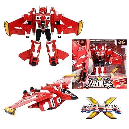 Amazon com: MINI FORCE Miniforce X Semibot Transformer Robot