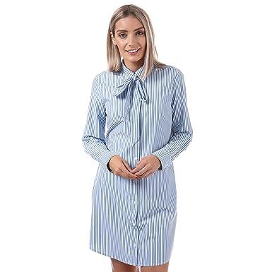 a6394ca336a robe de Magdalena Levi Robe Celeste Basswood M Bleu  Amazon.fr  Vêtements  et accessoires