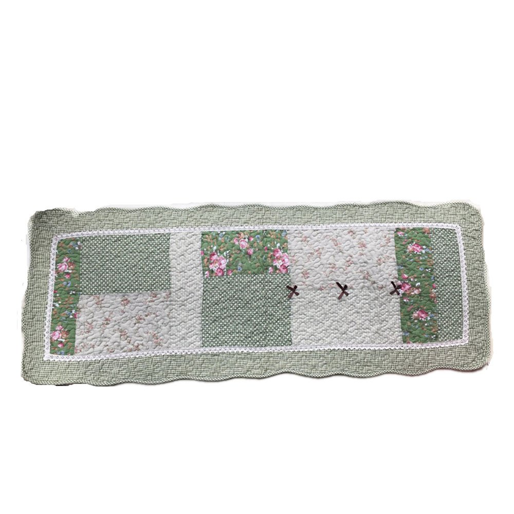 Pink USTIDE Rustic Rose Flowers Area Carpet,Home Decor Cotton Pink Roses Pattern Bedroom Floor Rugs,Unique Quilted Washable Bathroom Rug 2x4 COMIN16JU019393