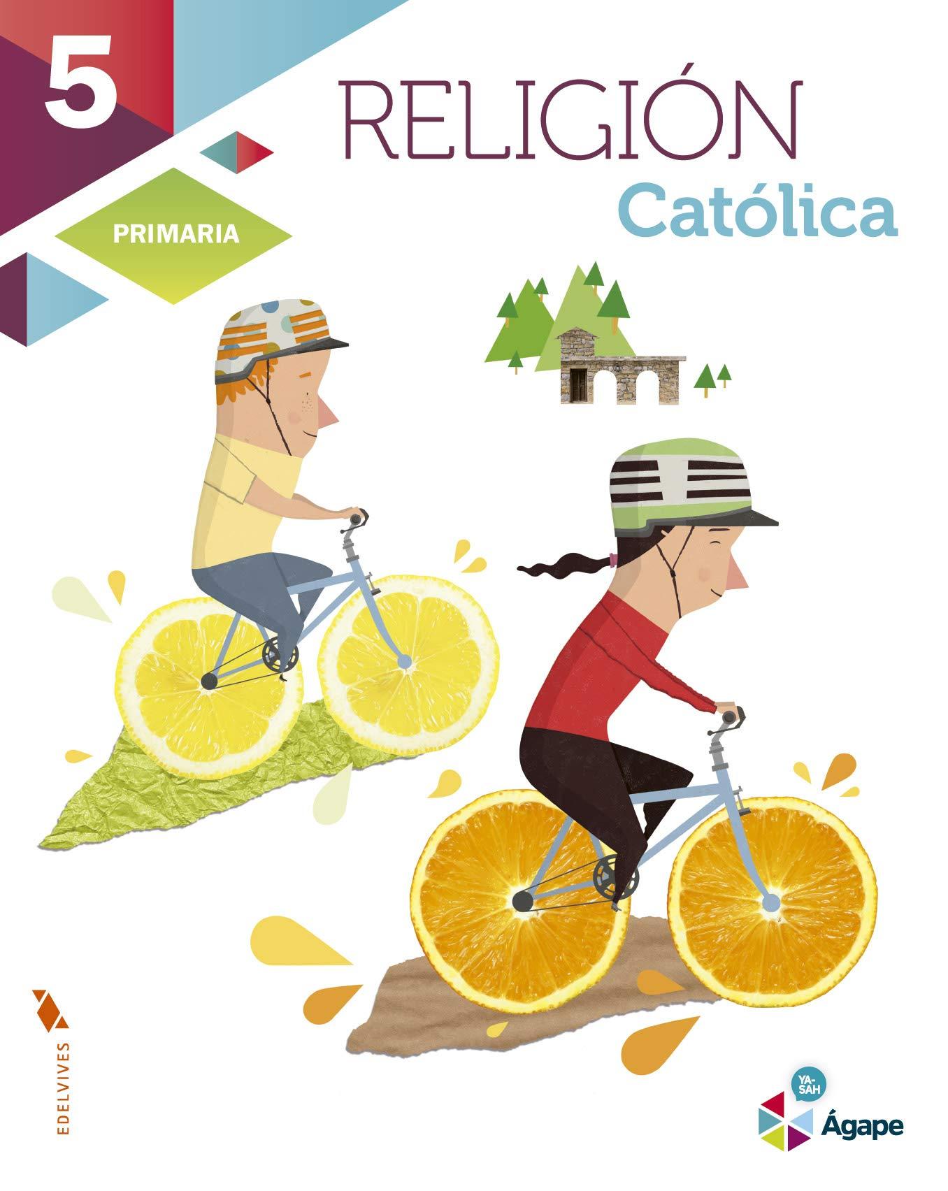 Religión Católica 5º Primaria (Ágape) - 9788426398710: Amazon.es ...