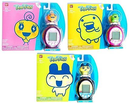 Amazon Tamagotchi Tamatown Tama Go Exclusive 3 Pcs Set With