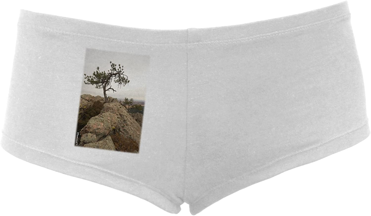 TooLoud Stone Tree Colorado Womens Boyshorts