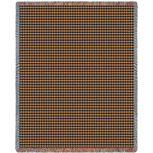 Pure Country Houndstooth Terra Blanket Tapestry Throw - Pure Country Cotton Tapestry
