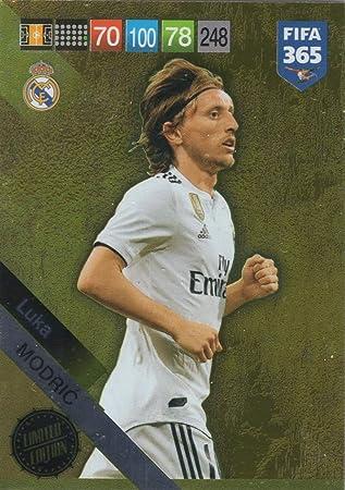 PANINI ADRENALYN XL FIFA 365 2019 UPDATE Luka Modric Limitierte Auflage Real Madrid