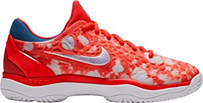 online store 329a3 8c2bc Nike Air Zoom Cage 3 Premium (5, Bright Crimson White Industrial Blue