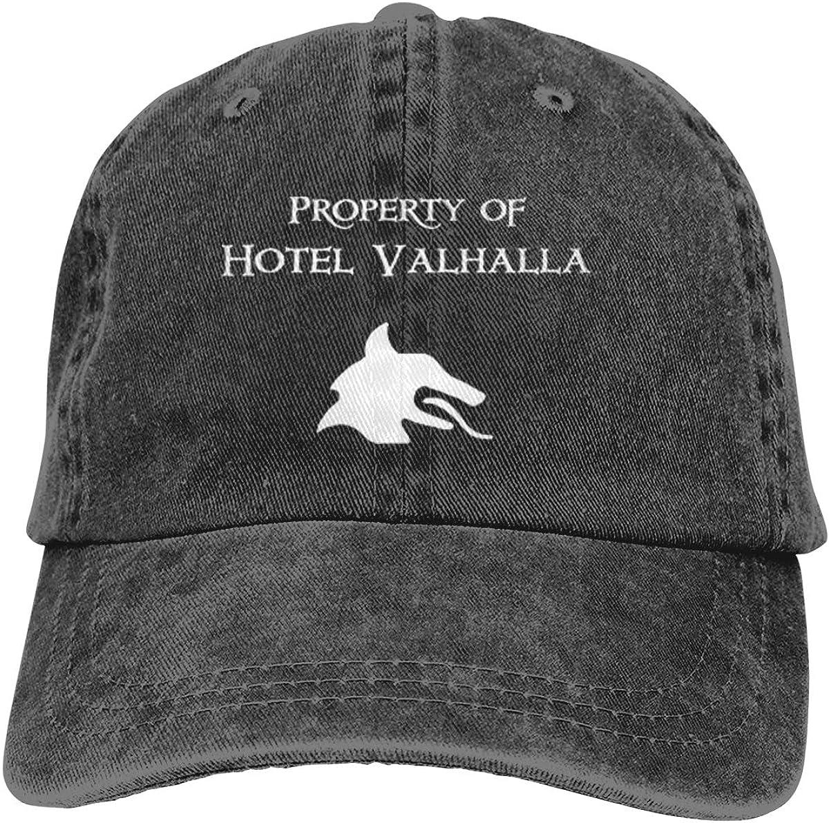QDGERWGY Property of Hotel Valhalla Trucks Cotton Hat Cowboy Hat Baseball Caps