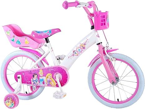 Disney Princess 16 pulgadas – Bicicleta infantil con freno de ...