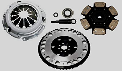 Racing Clutch Kit Complete Set & Flywheel For Honda Civic Type R EP3 FN2 K20 Integra
