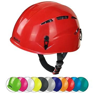 ALPIDEX Casco de Escalada Universal Argali Casco de ferrata en Modernos y Variados Colores, Color