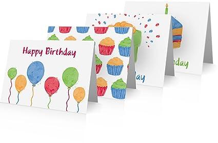 Tarjeta de felicitación de cumpleaños Variety Pack (24 ...