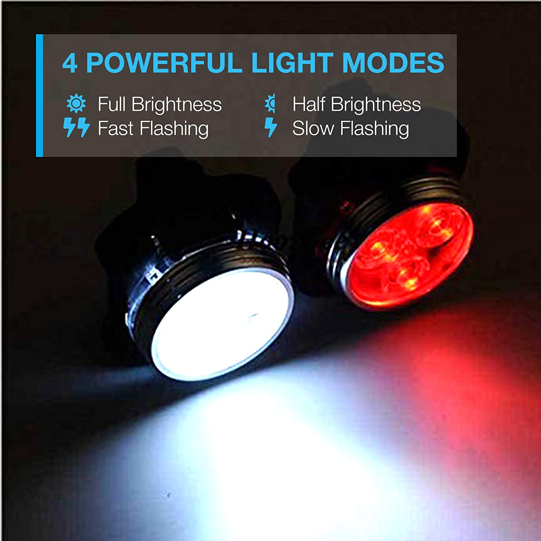 Details about  /Vont USB Rechargeable Bike Light Set