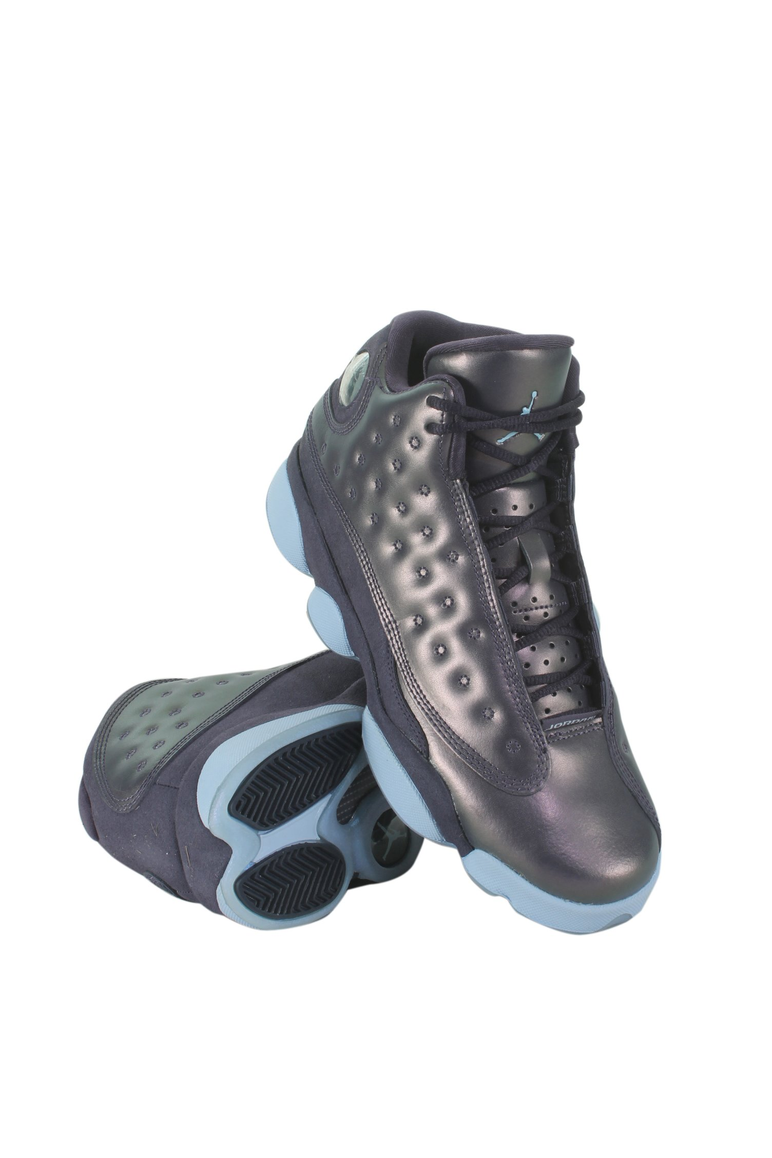 Jordan Retro 13'' Dark Raisin Premium Dark Raisin/Hydrogen Blue (GS) (7)