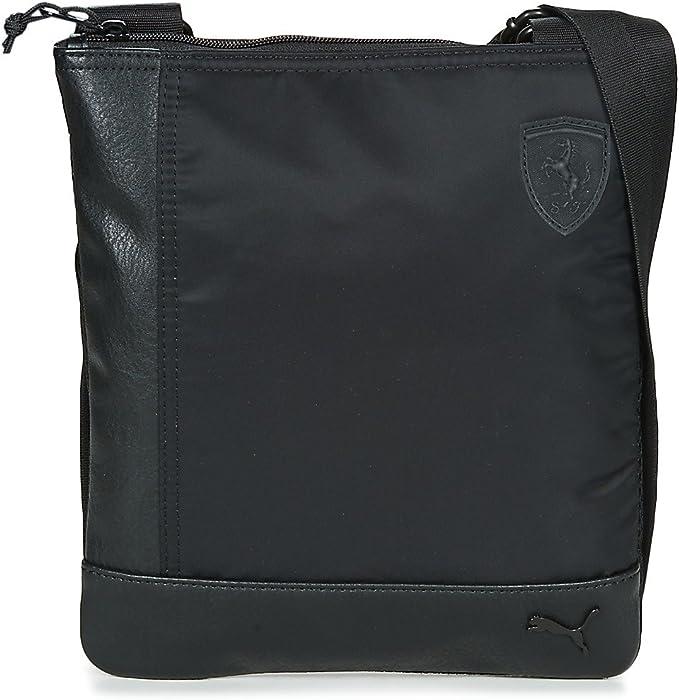 Puma FERRARI LS FLAT PORTABLE Kleine Taschen herren Black  Geldtasche/Handtasche