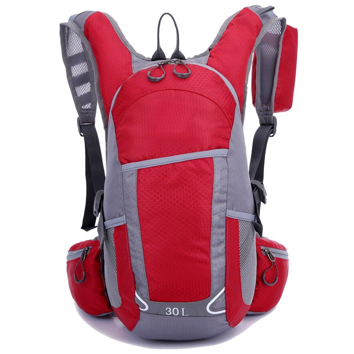Impermeabile Ultraleggero All'aperto Gli Gli Gli sport Ciclismo Escursionismo Viaggio Unisex-adulti Zaino (rosso) | Fai pieno uso dei materiali  | Bella apparenza  2d4aaa