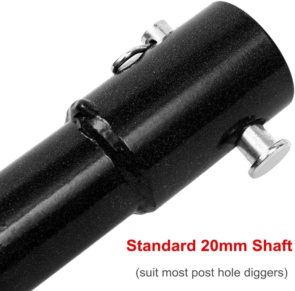 8cm Earth Drill Dual Blade Auger Drill Bit Fence Borer for Earth Petrol Post Hole Digger Power Tool Accessories Auger Drill Bit (Color : 80mm) 80mm