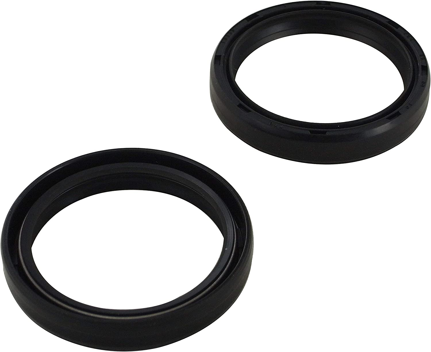 New HQ Powersports Fork Oil Seals Replacement For Suzuki RM125 1996 1997 1998 1999 2000