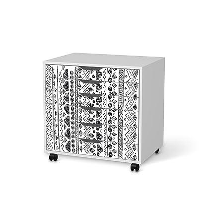 IKEA Alex cajonera con ruedas para muebles de-lámina 6 cajones/diseño de Ethno