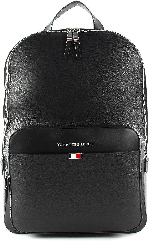 Tommy Hilfiger Business Backpack cuero Black