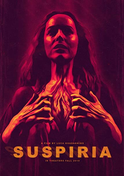 Suspiria 2018 11 x 17 Art House Theater Day Poster
