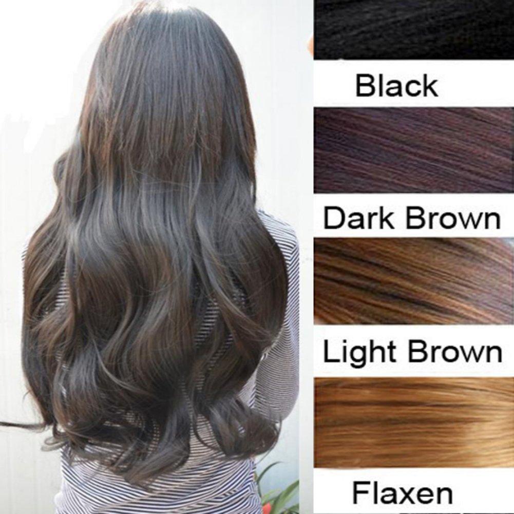 Amazon Zehui 29 Women Long Curly Wavy 6 Clips In On Hair