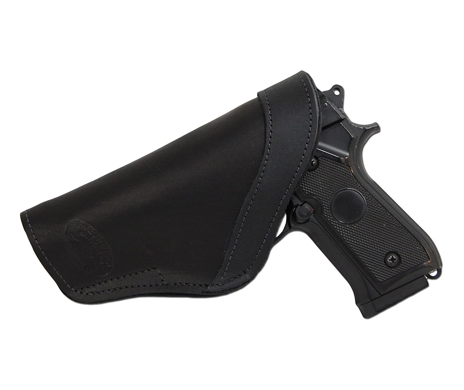 NEW Barsony Black Leather Single Mag Pouch Sig Walther Makarov 380 /& Ultra Comp