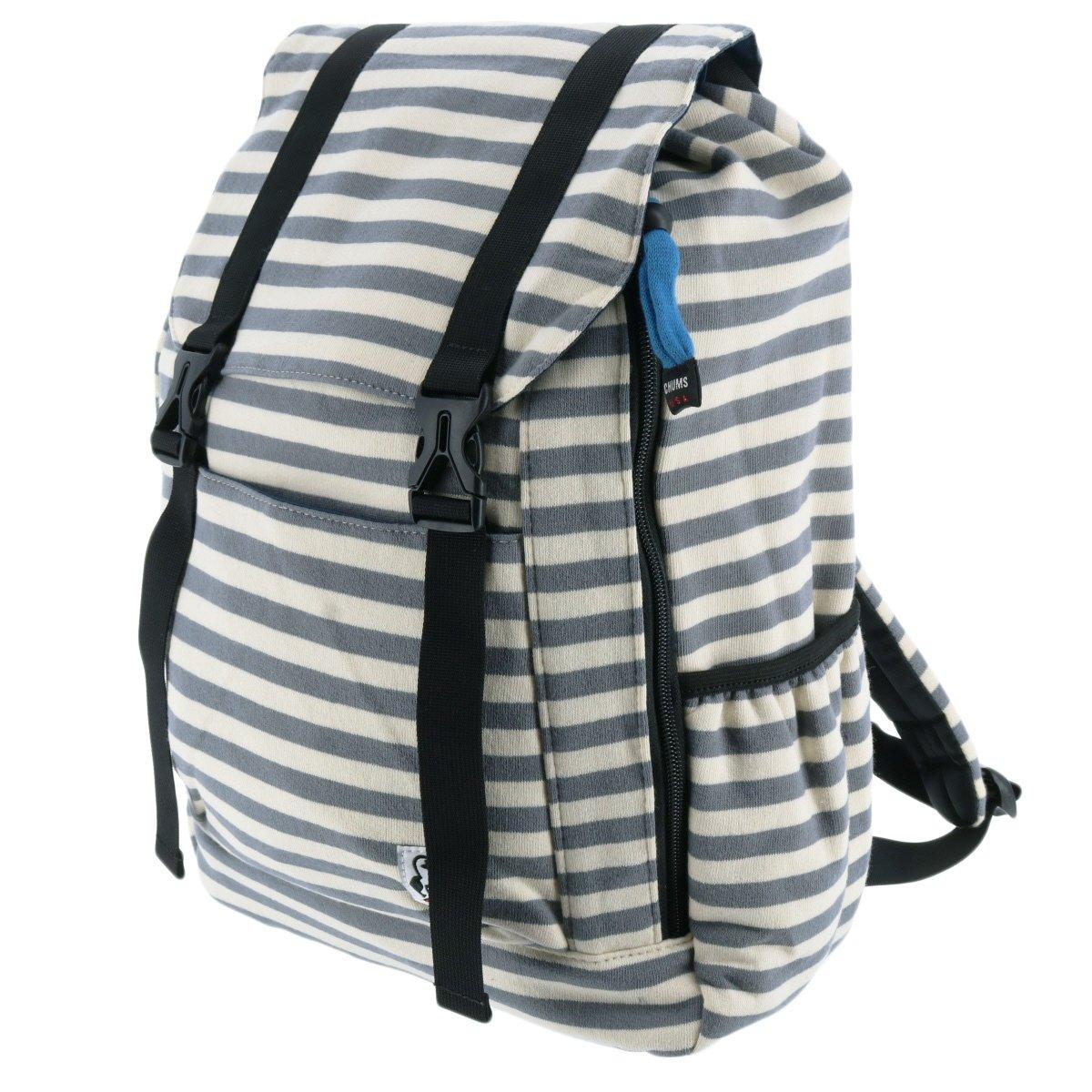 [チャムス] リュック Flap Day Pack Sweat CH60-2076-0118-00 B076KQKQVL 10.ホワイトxグレー 10.ホワイトxグレー