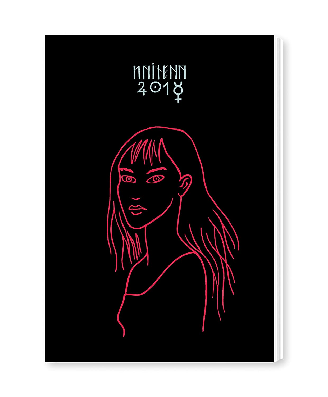 Granica Maitena Bruja - Agenda encuadernada, color negro: Aa ...