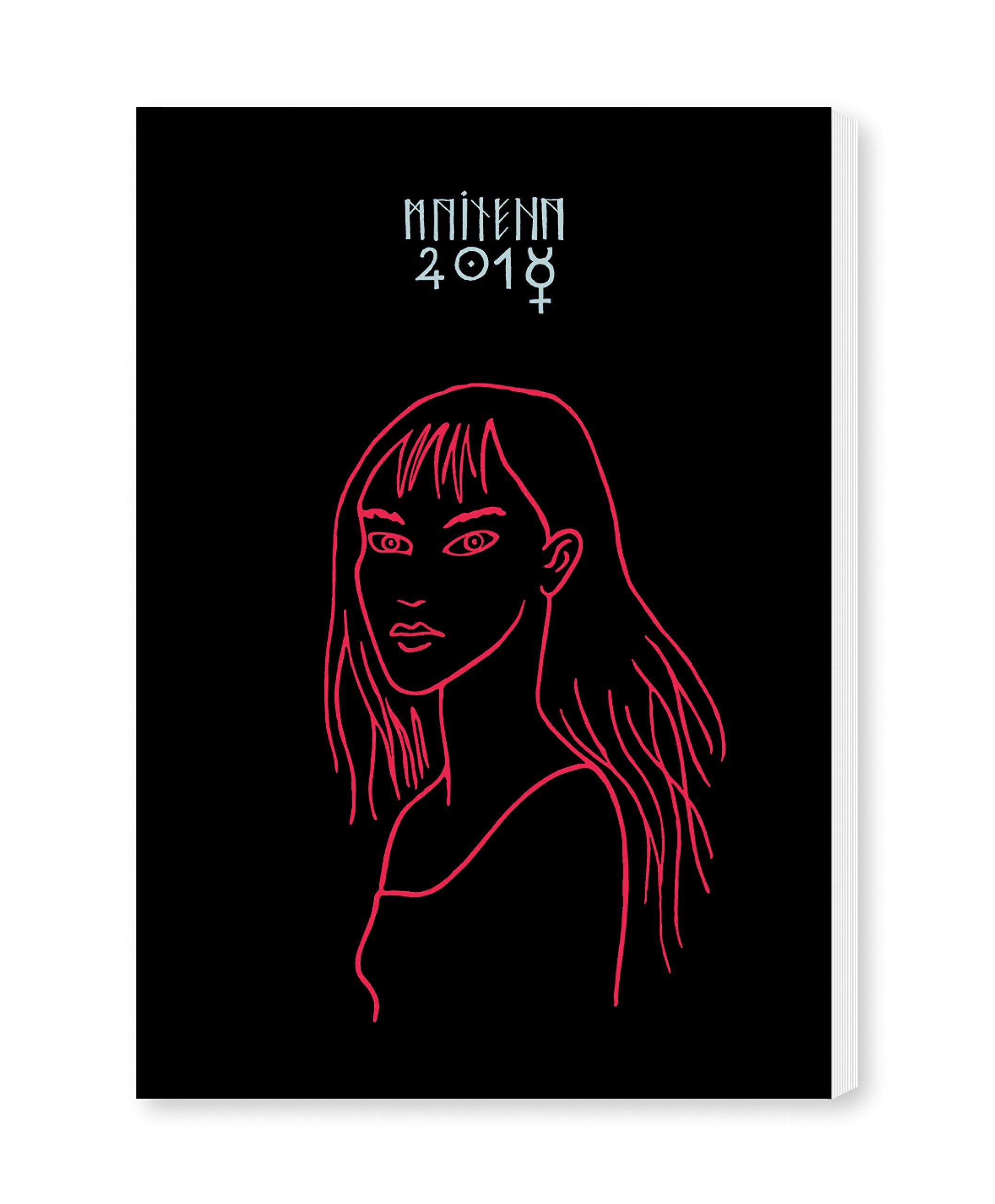 Maitena 2018 Agenda encuadernada - Bruja negra (Spanish ...