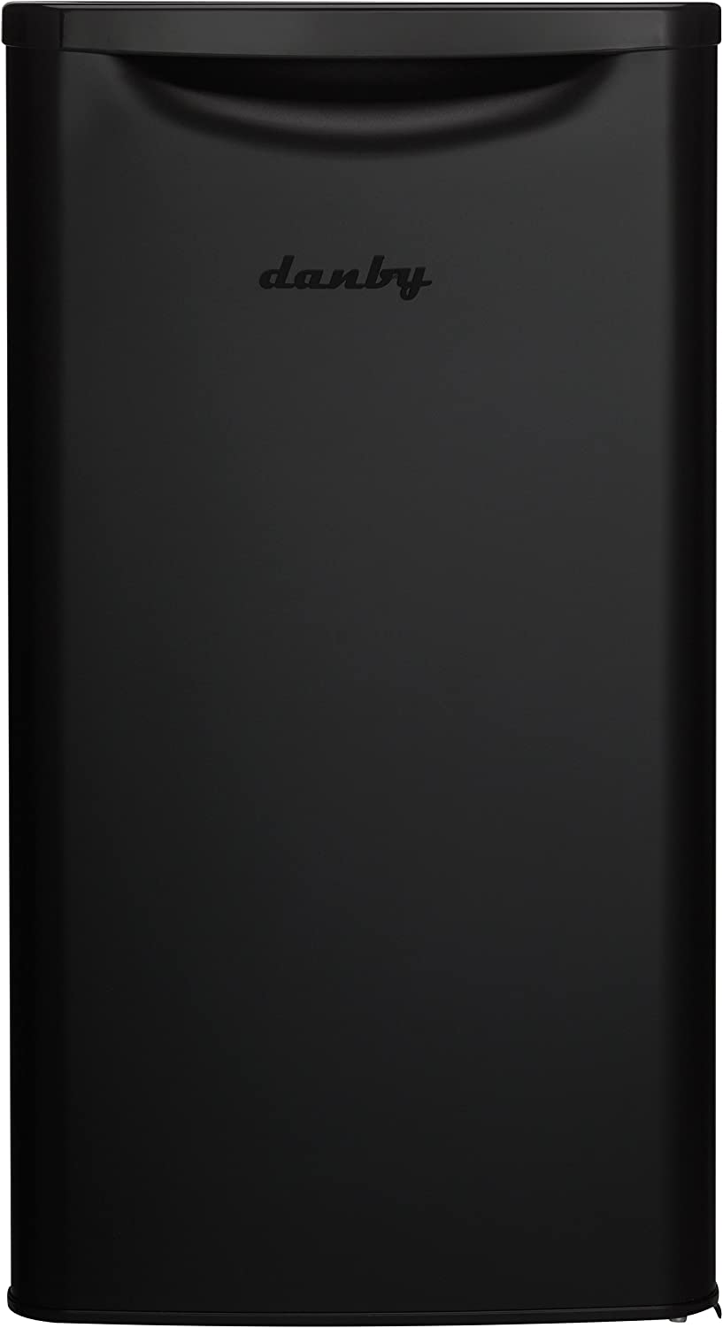 Danby DAR033A6BDB-6 Contemporary Classic Mini Fridge-3.3 Cubic Foot-Matte Black