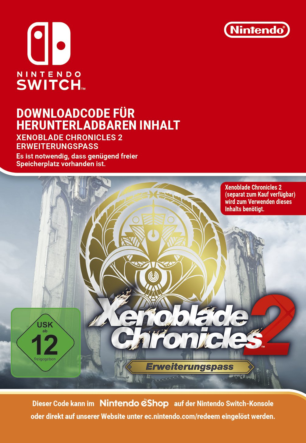 Xenoblade Chronicles 2: Expansion Pass DLC | Switch   Download Code