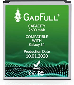 GadFull Batería de reemplazo para Samsung Galaxy S4 | 2020 Fecha ...