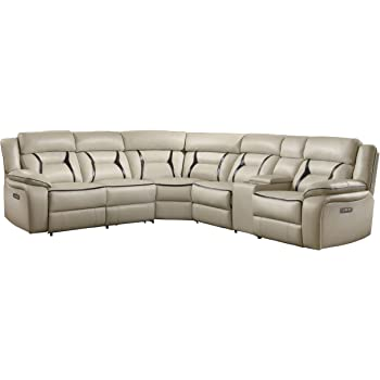 Amazon Com Ashley Tambo 2 Piece Sectional In Pewter