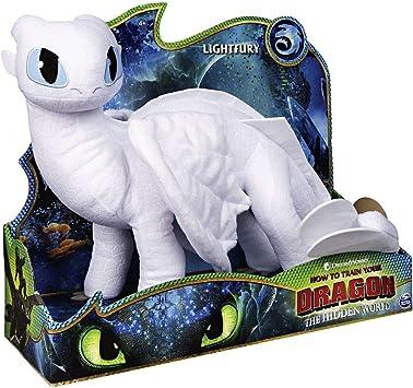 Furia Chiara Drago | DreamWorks Dragons | 36 cm Deluxe Peluche
