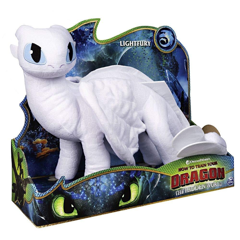 Train Your Dragon 3 Light Fury -... Peluche 12432 DreamWorks