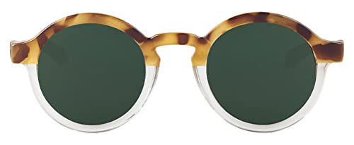 MR.BOHO, High-Contrast tortoise/transparent dalston with classical lenses - Gafas De Sol unisex mult...