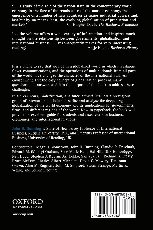 globalisation in international business