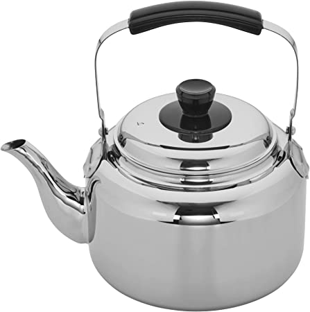 Demeyere 10106 RESTO Stainless Steel Tea Kettle, 6.3-qt,